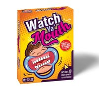 Wholesale Watch Ya Mouth Game Best Christmas Celebration set Party Game Board Game cards mouthopeners Family Edition Hilarious Mouth Guard