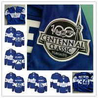 Wholesale 2017 Centennial Classic Premier Toronto Maple Leafs Anniversary Patch Mitchell Marner Auston Matthews William Nylander Hockey