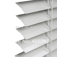 Wholesale Top Fasion New Plain Crafts Blinds mm Aluminum Venetian Blinds steal Head rail R chain System Control fashion for Grain