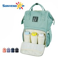 baby nappy brands - Sunveno Fashion Mummy Maternity Nappy Bag Brand Large Capacity Baby Bag Travel Backpack Desinger Nursing Bag for Baby Care