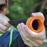 Wholesale FPS Strong Pocket Slingshot Toys round Outdoor Slingshot Shooting Game Kids Like Outdoor Toys Boomerang Frisbee Flash