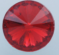 Wholesale transparent red mm glass flat bottomed diamond drill DIY