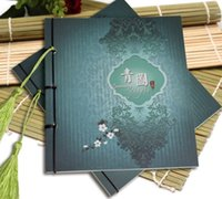 Wholesale The Extraordinary Notebook Package Of Times Square Blue Chinese Animation Around The Ancient Line Style Suitable For Birthday