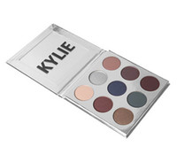 Wholesale Holiday Edition Kylie KyShadow Pressed Powder Eyeshadow The Holiday Palette Colors Eyeshadow Shipping DHL New Makeup