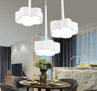 better energy - Restaurant lights pendant lamps Bar Motel Led lights quiet comfortable beautiful simple but better Energy saving Flowers style