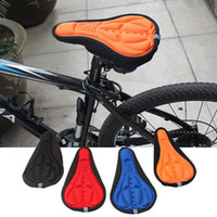 Wholesale 2016 new bicycle D Saddle Cushion Outdoor Bicycle Soft Cover Protector Cycling Bike D Pad Seat