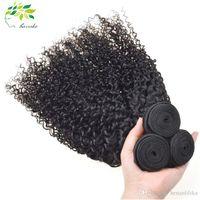 al por mayor peinados profundos brasileños del tejido de la onda-Brazilian Hairstyle Bundles Deep Wave Remy Cabello Humano Weaver Unprocessed Virgin Cabello India Malasia Peruvian Hair Extensión