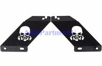 Wholesale 2pcs for JEEP Wrangler JK Hood Mount Brackets quot LED Light Bar Mounting for Rubicon Engine bracket
