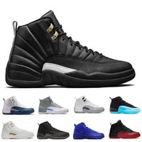 air hockey table games - With Box Hot new air retro s XII Basketball shoes man ovo white TAXI Flu Game GS Barons Playoffs gym French blue Varsity red Sneakers
