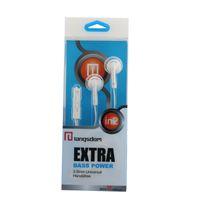 Original Langsdom IN2 auriculares de auriculares de 3,5 mm auriculares estéreo de auriculares de bajo nivel manos libres con micrófono