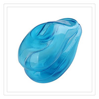 Wholesale 2017 New Clear Soft Silicone Ear Cover Blue Hair Dye Shield Protect Salon Color Product Ears New Styling Accessories DHL