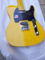 Wholesale HOT High Quality yellow tele guitar Ameican standard telecaster electric Guitar in stock
