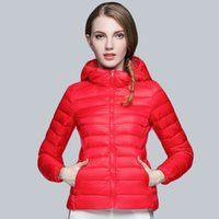 bamboo clothing companies - 2016 autumn and winter the new light and thin fashion short down jacket women s light feather clothing company cap coat free delivery