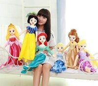 8-11 Years Girls Wool cloth with soft nap 2016 Sale New Reborn Dolls Babies Juguetes Silicone Reborn Baby Dolls Plush Toy Doll Fairy Tale Mermaid Princess Snow White Sleeping Beauty