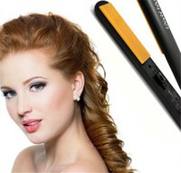 Wholesale 2016 Branded C H Hairstyling Flat Iron Pro quot Ceramic Ionic Tourmaline Flat Iron Hair Straightener Brushes with Retail Box