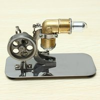 Wholesale Mini Hot Air Stirling Engine Motor Model Educational Toy Kits