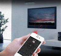 Wholesale 3 mm IR Smart Remote Control For iphone Universal Smart Infrared Wireless Remote Controlers With LED Support All Appliances CA2483