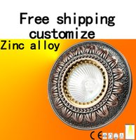 Wholesale Ceiling lamp Track lights odl lighting Zinc alloy Russian style customize product Local tyrants tan