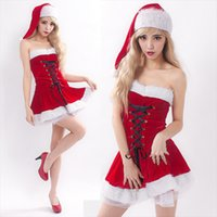 The uniform temptation adult dance clothes - New Sexy Christmas Costumes Adult Female Cosplay Dance Party Uniforms Temptation Performance Clothing
