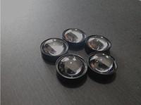 Wholesale LED lens for W w LED chip lens with black white holder diameter mm degree high qualityoptical lens