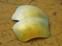 Wholesale BOTT Polarized Replacement Lenses for Flak Jacket XLJ Sunglasses K Golden UVA UVB