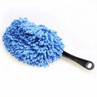 Wholesale Multi functional Car Duster Cleaning Dirt Dust Clean Brush Dusting Tool Mop Gray