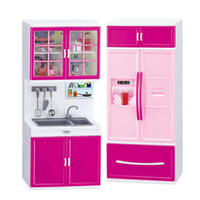 Wholesale Best Quality and Hot Sale Mini Kitchen Pretend Play Cooking Set Cabinet Stove Toy for Kids Baby Children
