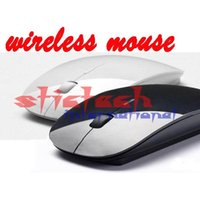 Wholesale BY DHL OR EMS pieces newest fashionable wireless mouse and mice G receiver super slim mouse