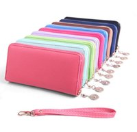 Wholesale Men and women candy purse card holder pu leather handbag ladies wallet with GL WB03