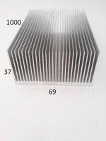 Customised aluminium anodizing - Factory price energy efficient aluminium heat sink profiles aluminum profile custom anodizing aluminum heatsink