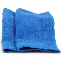Cheap New Design Soft Water Absorbent Fiber Home Kitchen Car Bicycle Wipe Wash Cloth Cleaning Towel 30x30cm WA1496