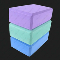 Wholesale Lady Yoga Pilates Foam Foaming Block Brick Stretch Aid Health Fitness Exercise Gym