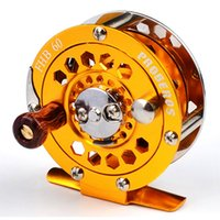 additive color wheel - 2pc Proberos Top Quality Fishing Reel Exported to Japan Glod color Fly Reel g Fly Fishing Wheel Diameter mm