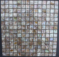 Wholesale Cheap Square Brown Mother of Pearl Shell Tiles