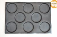 CE / EU baguette french bread - Fiberglass Circle French Bread Bakeware Mold Baguette Pan Tray quot x11 quot inch Baking Pan