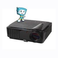 Vente en gros (Smart Life) 2016 RD-806B Full HD 1080p Business Education, Projecteur de théâtre à domicile LED viennent avec HDMI TV VGA AV Fonction