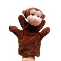 achat en gros de gros singe parler-Grossiste - 1piece marionnettes de marionnettes de singe marionnettes, poupée en peluche, gant-marionnettes, jouets en peluche marionnettes Talking Props Chirstmas Day Gift t