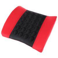 Wholesale Portable Shaking Back Massage Cushion with Bump Adjustable Vibrating Speed Reasonable Magnetize Design Offers Massage Function