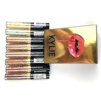 Wholesale 2016 NEW Kylie Jenner concealer highlighter makeup color matte Golden Package Free Gift DHL ship