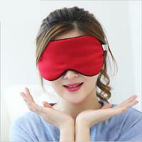 Christmas best sleeping eye mask - Best Price Silk Eyeshade Soft Eye Mask Sleeping Aid Shade Cover Cm Travel Relax Blindfold NEW Sleep Snoring Colors Available