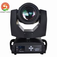 Wholesale New arrive LED stage DMX lighting R W channels Dual Rotation Prism Touch Screen Moving Head Beam Light AC V