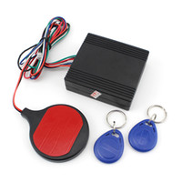 Wholesale Motorcycle Alarm motorcycle security system Smart ID card Induction Invisible Alarm Sensor Motorcycle Anti theft Device