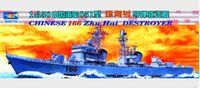 Wholesale scale Chinese naval missile destroyer Navy Cruiser Battleship war ship model hobby model kit best gift for boy