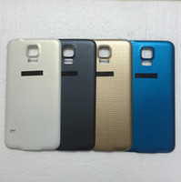 Wholesale Original A For Samsung Galaxy S5 i9600 G900 Battery Housing Door Back Cover Rear Case