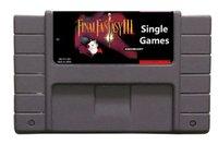 Wholesale Super nes sigle games CNDAN USA version Final Fantasy