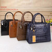 bag blanks - Noble Alligator Lady Wristlet Bags Fashion Designer Leather Zipper Hand Bags for Women with Blank Pressing