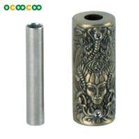 Wholesale Tattoo Gun parts SB005 Relief Witch Individuality Tattoo Grip Non slip Bronze
