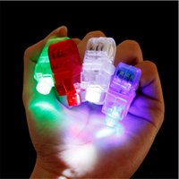 Wholesale For Party KTV Bar Gift Worldwide Sale Multi color Bright LED Laser Finger Ring Light Lamp Beams Torch