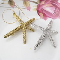 american beauty stars - Summer Retro Alloy Metal Shell Starfish Hairpins Side Clip Sea Star Hair Clips Elegant Beauty Women Girl Hollow Barrettes