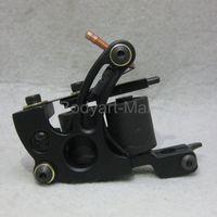 Wholesale New Professional Tattoo Machine Warp Coil Black Tattoo Gun For Beginner Shader Liner GAM14 A